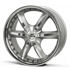 Antera 501 8,5x19 5/114,3 ET32 d-75 Racing Black Front Polished (501 859 B07)