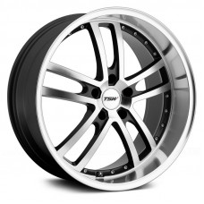 TSW Carthage 8,0x17 5/108 ET40 d-72 Gloss Black Mirror Lip Milled Spokes (1780CAR405108B72)