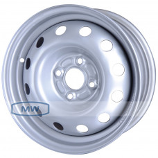 Magnetto (14005 S AM) 5,5Jx14 4/100 ET35 d-57,1 Silver WV Caddy II