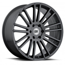 Black Rhino Mozambique 10,0x24 5/150 ET30 d-110,1 Gloss Black With Milled Spokes (2410MZA305150B10)