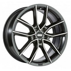 BBS XA0201 8,5x18 5/120 ET35 d-82 Black Diamond Cut (0360557#)